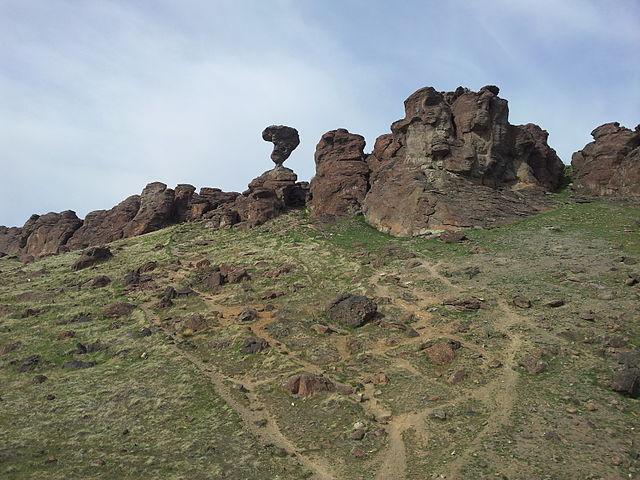 Balanced Rock in Southern Idaho